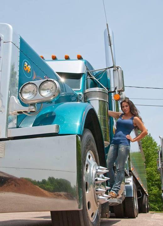 naked women in a semi truck