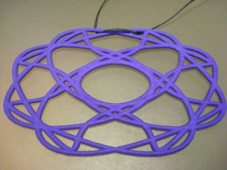 3d printing pendant made from polyamide.Available in black white, red, pink, purple and blue. www.shapeways.com...