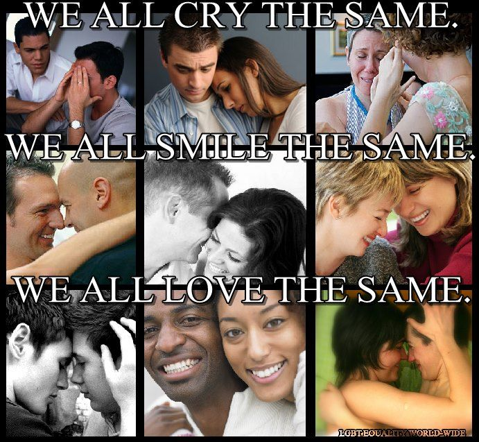 Universal emotions - sad, happy, in-love