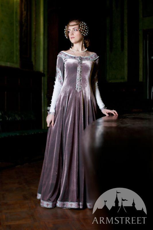 Mittelalter kleidung hochzeitskleid
