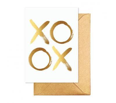 elm - Card- Xo Gold