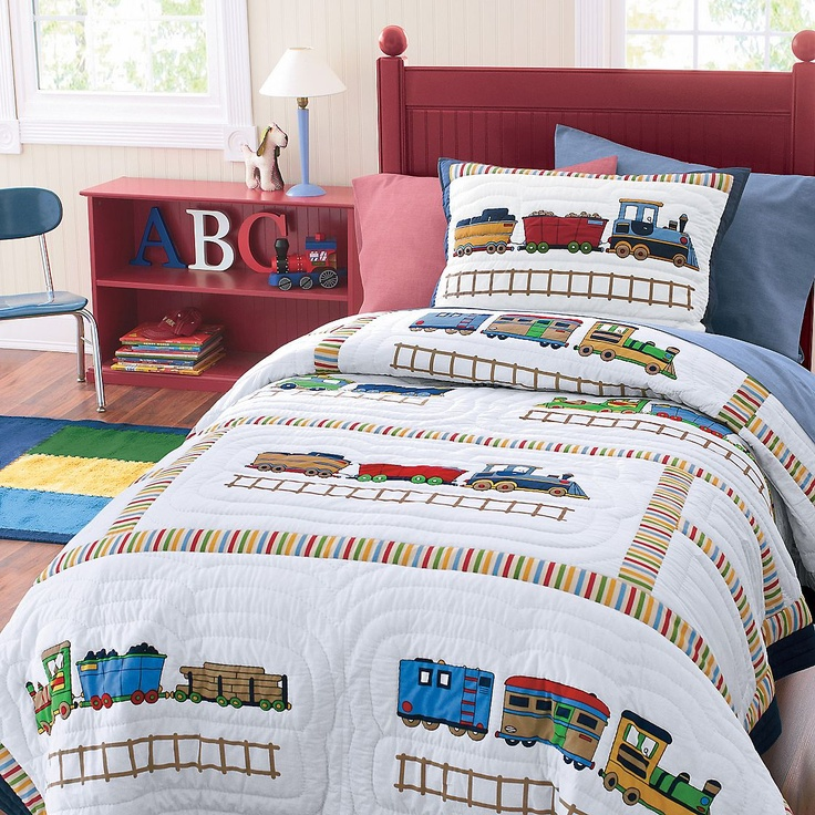 Train Themed Bedroom: 17 Best Images About Train Quilts On Pinterest