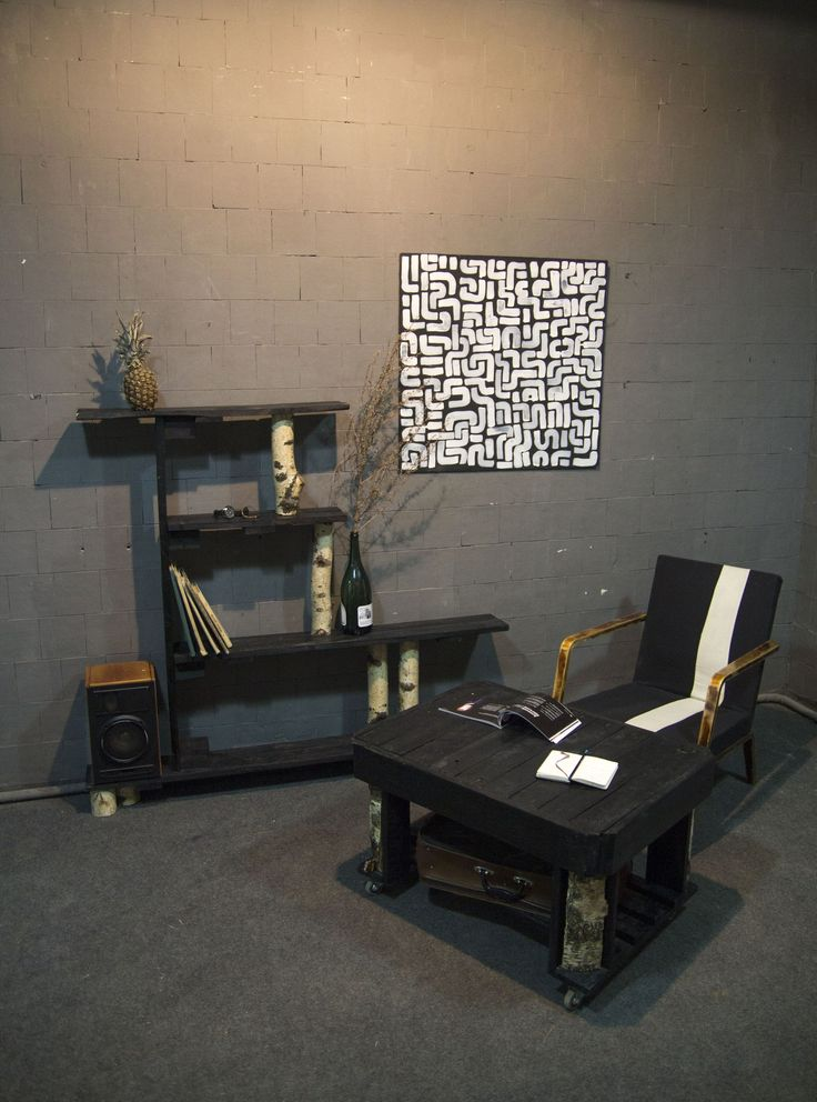Interior by contemporary art lab Dom Gruzchika (Porter House)