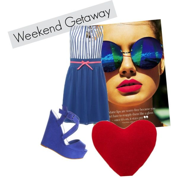 """Week end in blue"" by sara-biondi on Polyvore"
