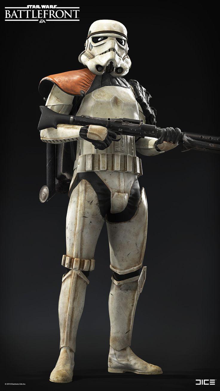 Star Wars Battlefront Character Art Dump - Björn Arvidsson
