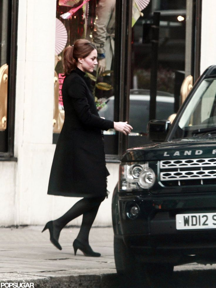 Kate Middleton Shops at Harvey Nichols, 10 Nov 12.