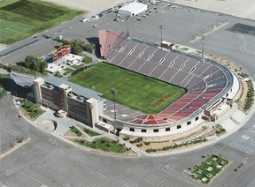 Sam Boyd Stadium in Las Vegas, Nevada. Can't even tell you how many UNLV games & concerts I've seen here.