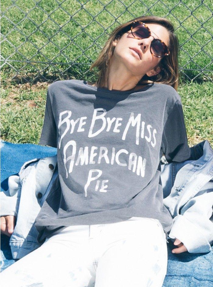 Bye Bye Miss American Pie Tee