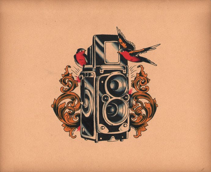 Resultados de la Búsqueda de imágenes de Google de http://www.deviantart.com/download/210760196/roloflex_camera_tattoo_comish_by_calico1225-d3hhblw.jpg