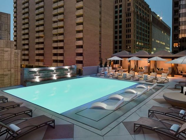 Storied downtown Dallas hotel unveils splashy new rooftop feature . : rooftops in dallas - memphite.com