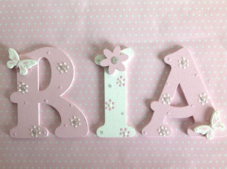 Best 25+ Decorate Wooden Letters Ideas On Pinterest