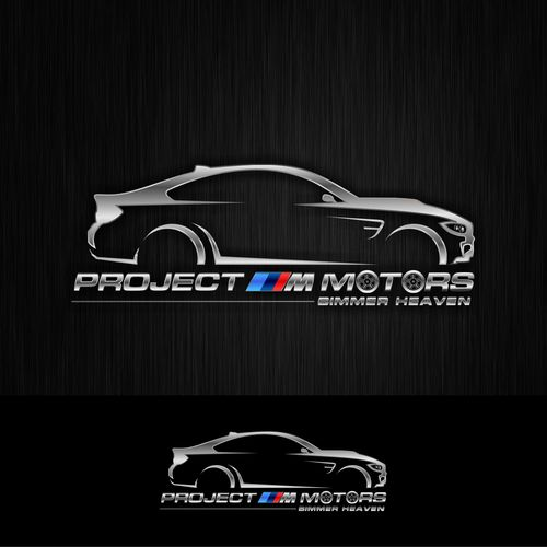 Project M Motors IS HUGE on Instagram, but our logo SUCKS, BMW Company