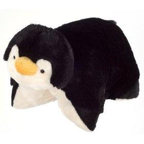My Pillow Pets Playful Penguin - Small (Black And White)  Order at http://amzn.com/dp/B00286IXVM/?tag=trendjogja-20