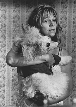 0 Estelle Parsons holding a dog in Love American Style 1973