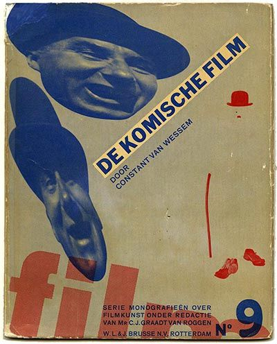 Comedy Movie Monographs on Art Film Series, Volume 9 Constant van Wessem and Piet Zwart, 1931.