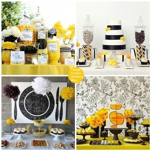 Yellow Black Candy Bar