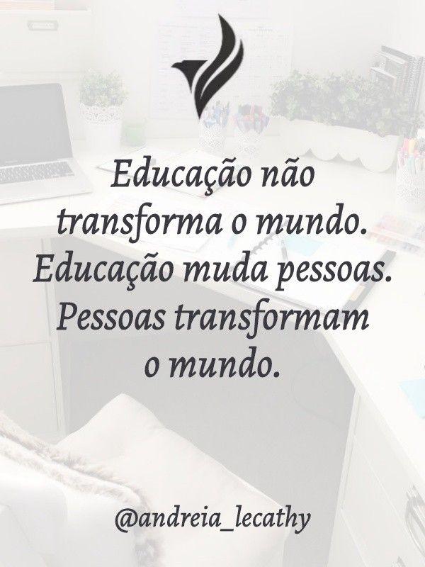 Ead Educacao A Distancia Com Imagens Frases Inspiracionais