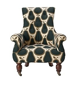 "Orla Keily ""pears"" print, chair style. oh my goodness I want this!!!!!!!!!"