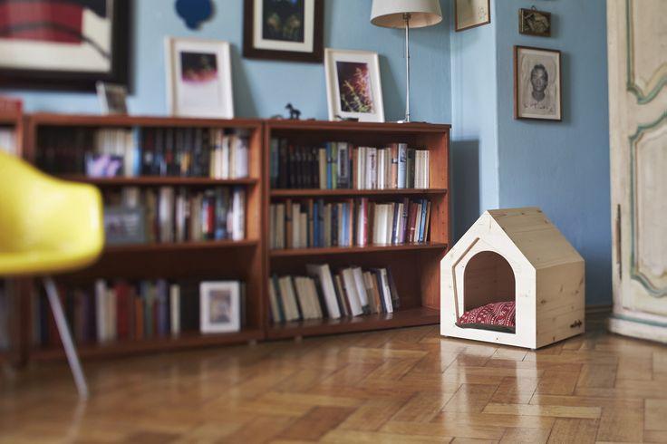 buda dla psa, buda dla psa do domu, miejsce dla psa w domu. Zobacz więcej na: https://www.homify.pl/katalogi-inspiracji/17127/jak-urzadzic-mieszkanie-przyjazne-zwierzetom-6-wskazowek-dla-wlascicieli-czworonogow