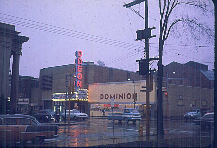 Corner of Darling and Market.  Looking from Victoria Park. I remember going to the movies at the Odeon.