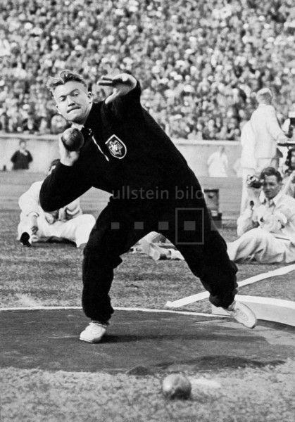 Hans Woellke (Leichtathlet Deutschland) - Olympiasieger im Kugelstoßen | Olympische Spiele 1936 in Berlin