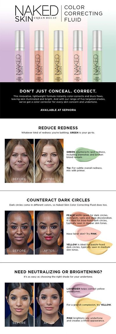 WTF is color correction and how do you use it?? Get all you need to know about color correcting concealer here!