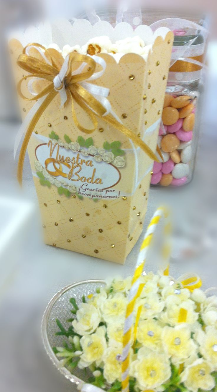 Decoración para bodas / Recuerdos / Centros de mesa / Barra de dulces