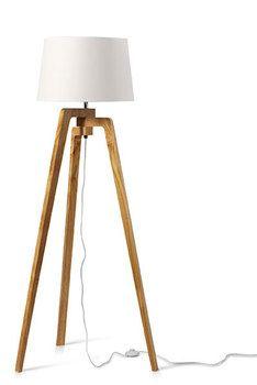 Deze lamp hebben we gezien in Denemarken en vinden we erg tof.
