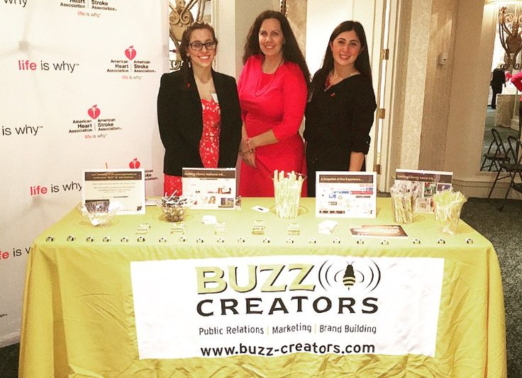 Buzz Creators, Inc. at the WestchesterFairfield Go Red