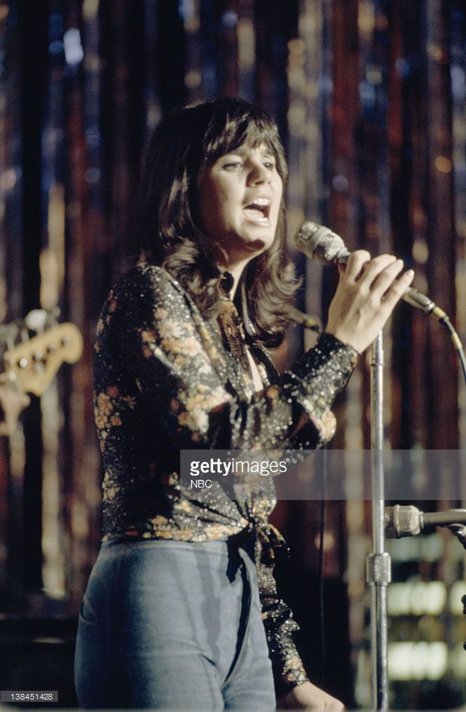 S NEW YEAR'S ROCKIN' EVE -- Aired 12/31/73 -- Pictured: Musical guest Linda Ronstadt. My parents were at this show! It filmed at the Queen Mary.