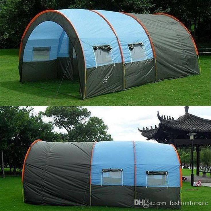 Outdoor 5 6 8 10 Persons Family Camping Hiking Party Large Tents 1 Hall 2 Room Waterproof Tunnel Tent Event Tents Beach Tent Local Dog Shelters Teen Shelters From Fashionforsale, $105.53| Dhgate.Com