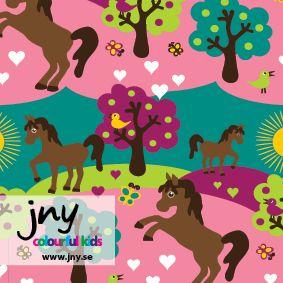 JNY Horse Organic Cotton Knit 30in - EMROSE FABRICS