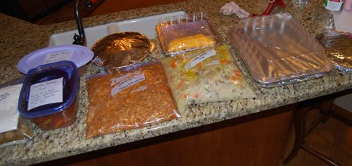 10 Freezer meals in 1 day!! Complete with recipes, instructions, a grocery list, and even labels!