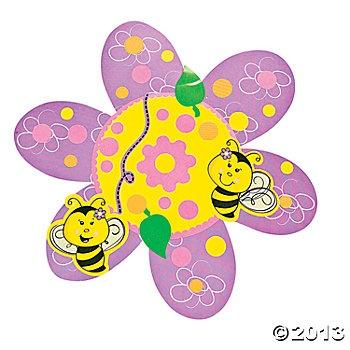 Die Cut Make-A-Sticker Flowers