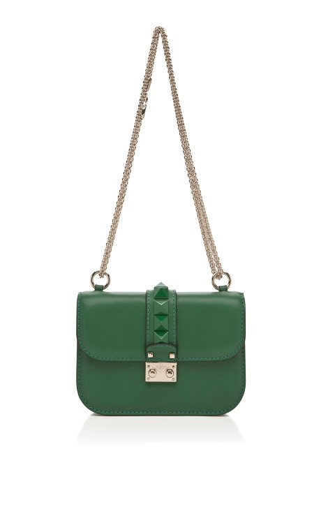 Mini Lock with Laquered Studs by Valentino