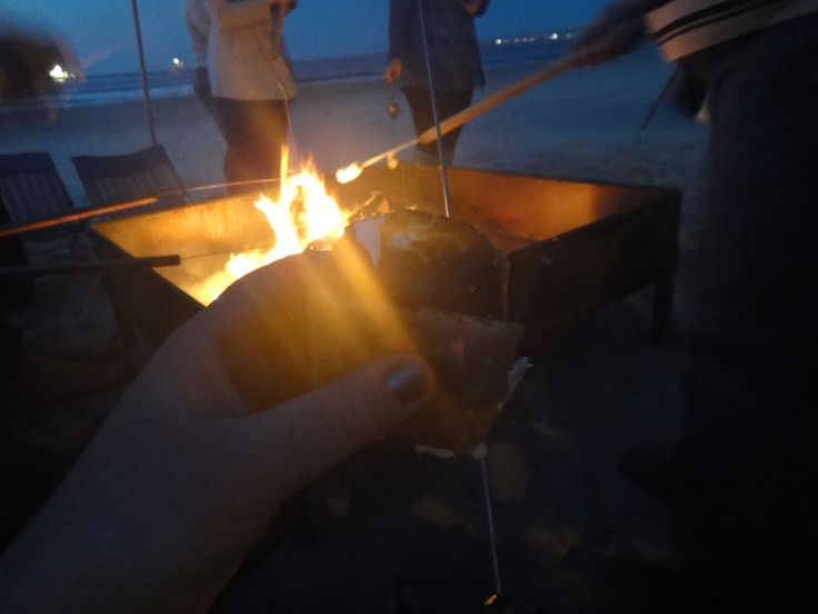 My first s'more. No more information necessary. Carmel California 2011