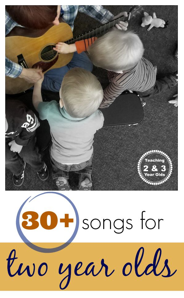 Favorite songs for 2 year olds