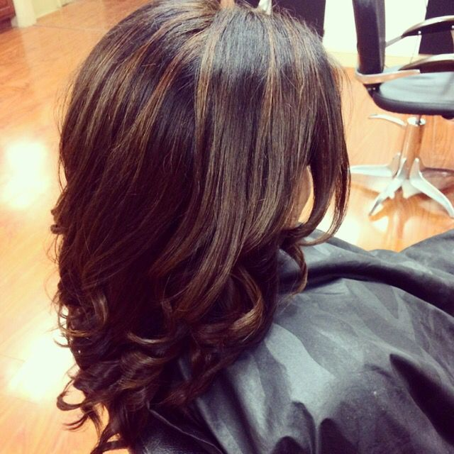 Balayage Sombre Obsessed With This Mocha Caramel Hair