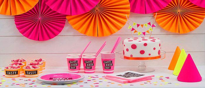 Coloridas ideas para decorar tu fiesta de cumpleaños