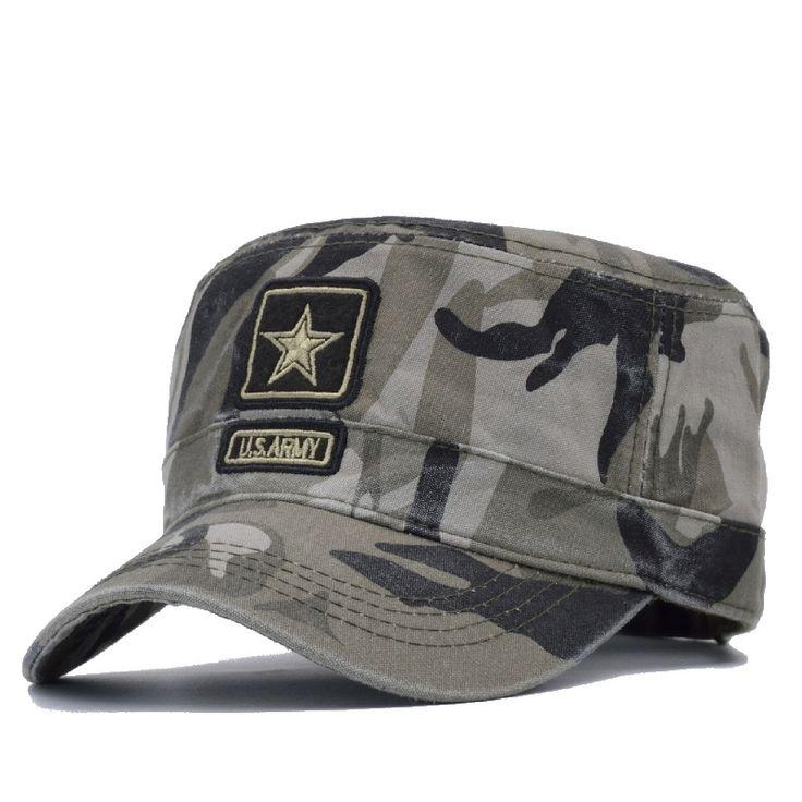 U.S. Army Camouflage Cap