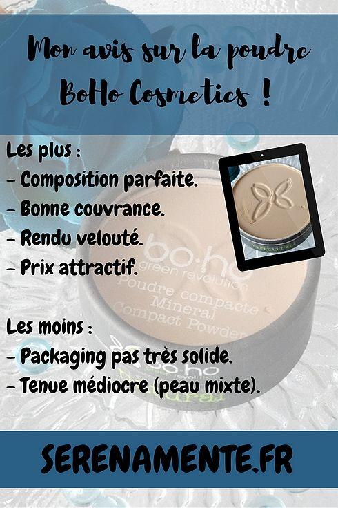 Découvrez vite mon avis sur la poudre BoHo Cosmetics ! Top ou flop ? Mon avis, mon test, mes swatches. #poudre #avispoudrebohocosmetics #bohocosmetics #powder #poudrebio