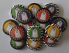 15 Girly Ghosts Halloween 1 Flatback Buttons Cabachons Hairbows Bottle Caps  - Halloween Flatback Pins