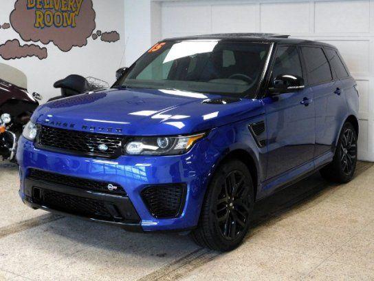 Cars for Sale: 2015 Land Rover Range Rover Sport SVR in Hamburg, NY 14075: Sport Utility Details - 419633360 - Autotrader