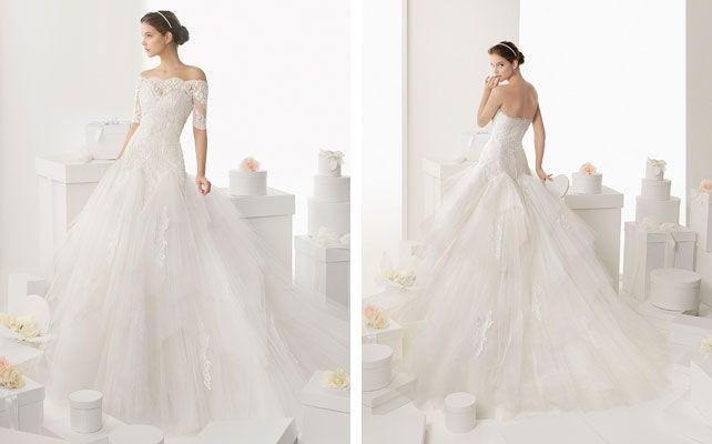 Cвадебные платья Rosa Clara: коллекция 2014