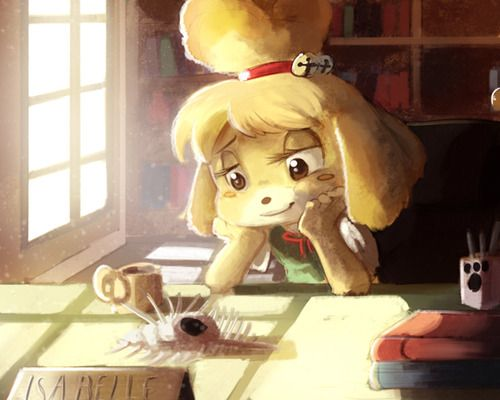 Animal Crossing: New Leaf Isabelle