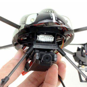Drones for Sale.  WL Toys V959 Quadcopter RC 4 Channel V989 - Future BattleShip Gatling Machine with Onboard Camera. Spy bug surveillance drone.  Find it at: http://goldmedal100.com/drones.htm