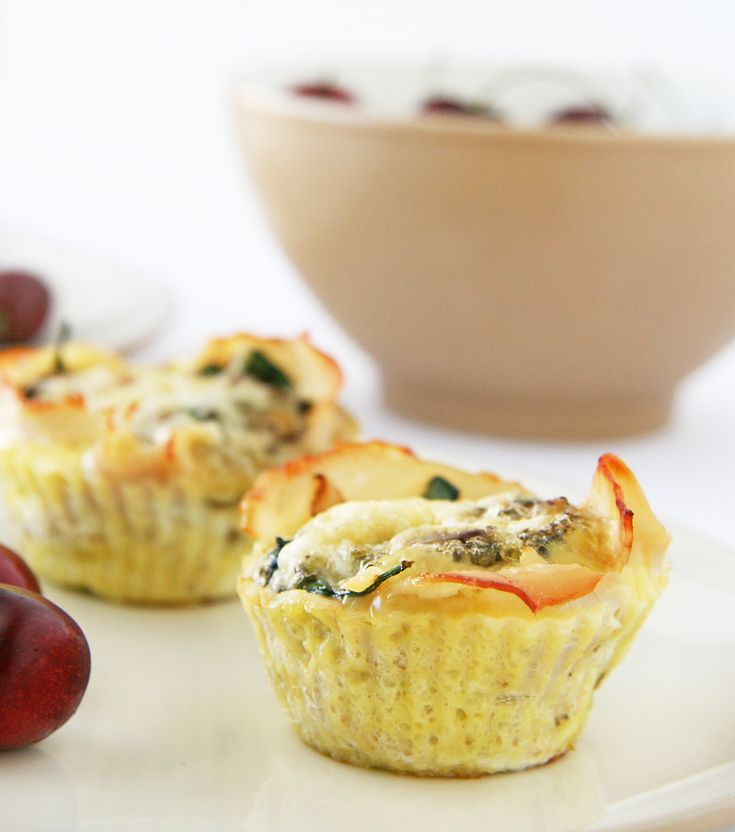 Italian-Style Baked Egg Cups | Baked Egg Cups, Baked Eggs and Egg Cups
