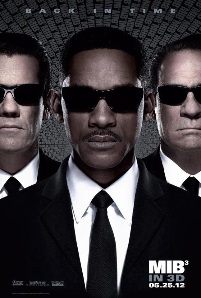 MIB3 - In Men in Black 3, Agents J (Will Smith) and K (Tommy Lee Jones) are back... in time. J has seen some inexplicable things in his 15 years with the Men in Black, but nothing, not even aliens, perplexes him as much as his wry, reticent partner. But when K's life and the fate of the planet are put at stake, Agent J will have to travel back in time to put things right.