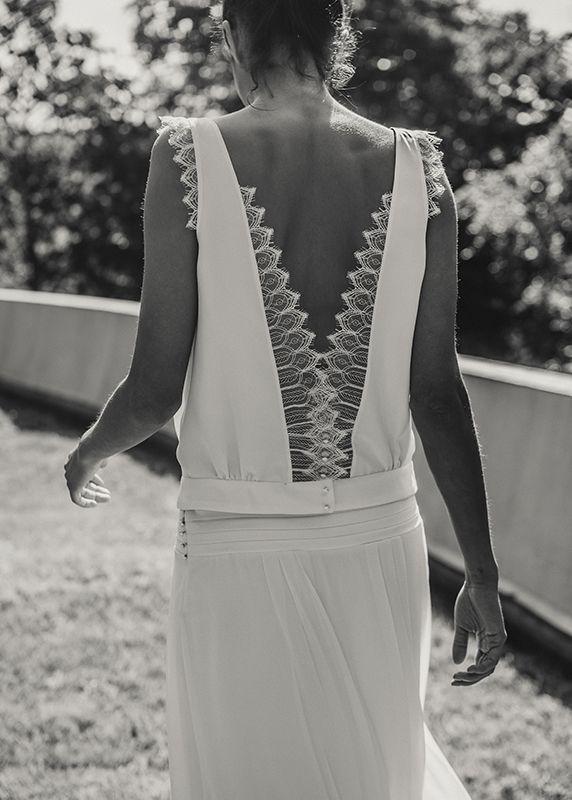 Laure De Sagazan #robesdemariée #weddingdress #mariée #brides #mariage #wedding #dos