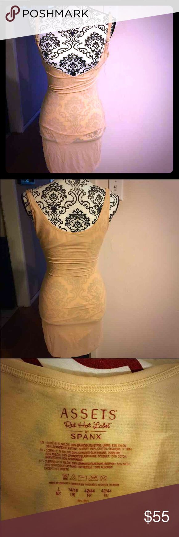 SPANX SLIP Used once for a wedding, SPANX size L SPANX Intimates & Sleepwear Chemises & Slips